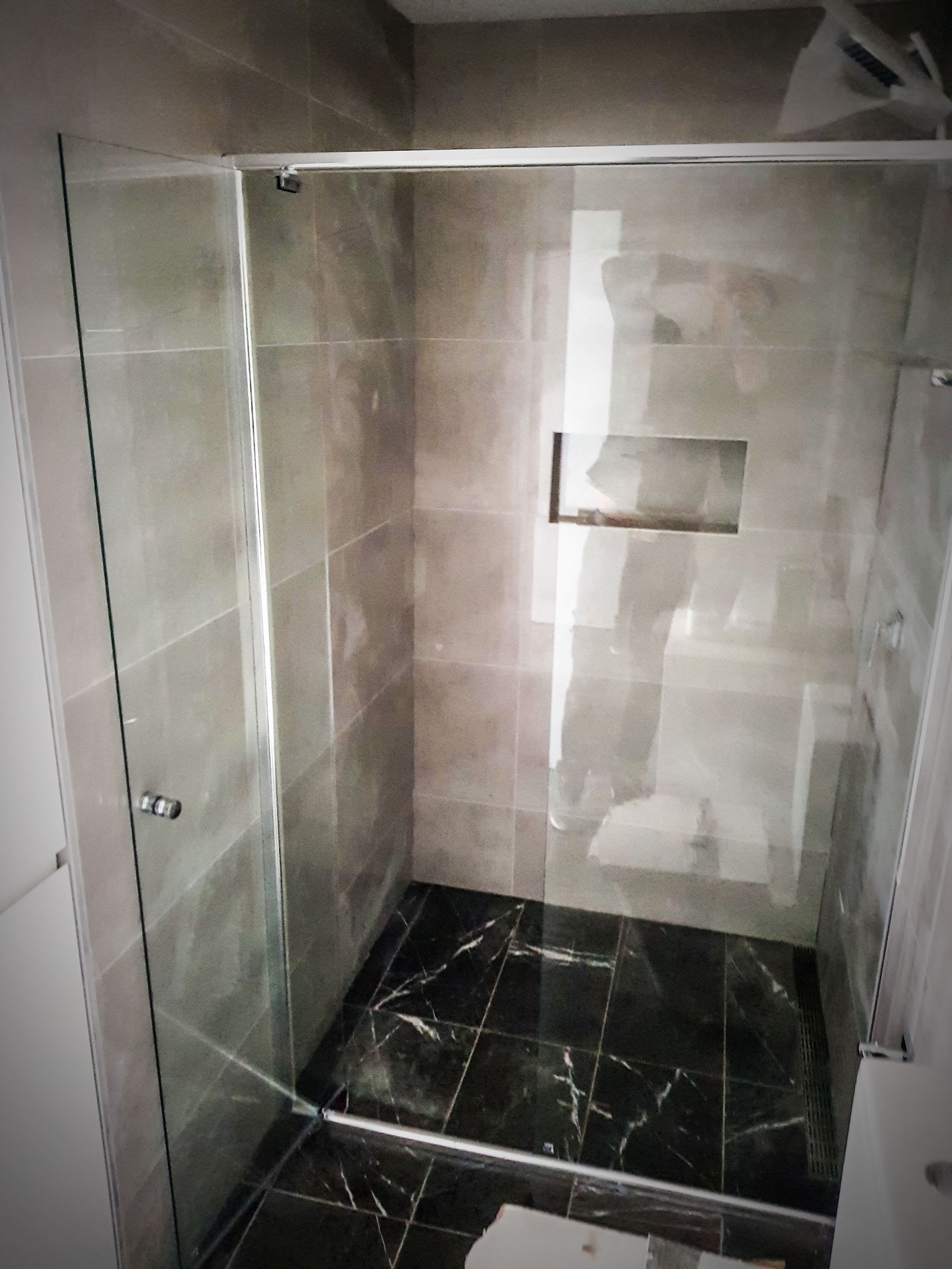 Semi-frameless Shower Screens Installation in Parramatta, Arncliffe